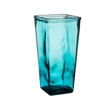 Vaso Vidro Traditional 11,2 x 11,2 x 23 Cm