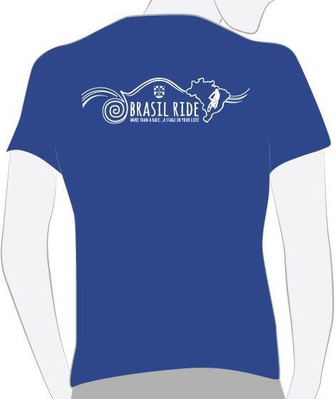 Camiseta Descobrimento azul