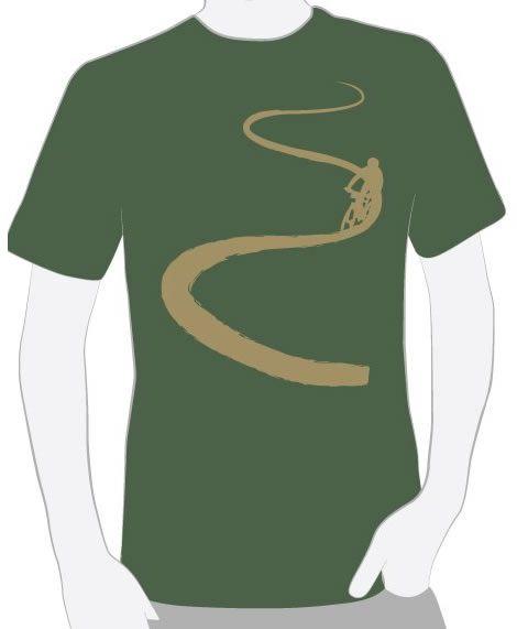 Camiseta Trilha verde