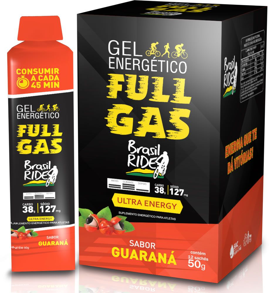 Gel energético - Ultra Energy – Guaraná