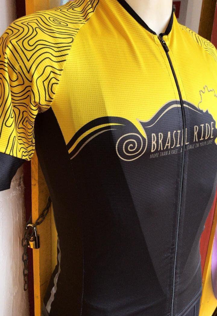 Jersey Brasil Ride amarela
