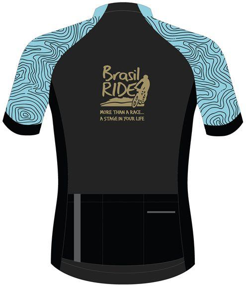 Jersey Brasil Ride azul tifany