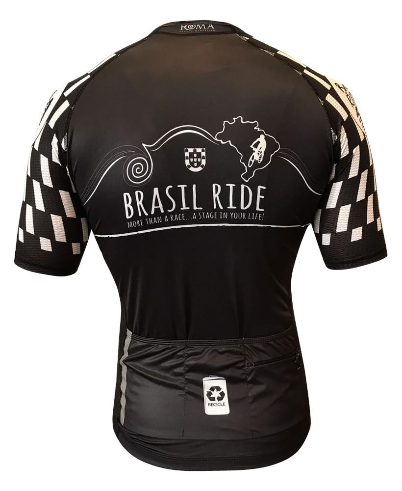 Jersey Brasil Ride Black & White