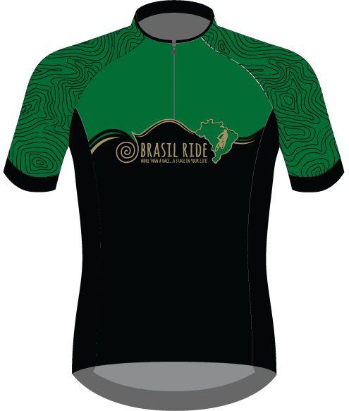 Jersey Brasil Ride verde