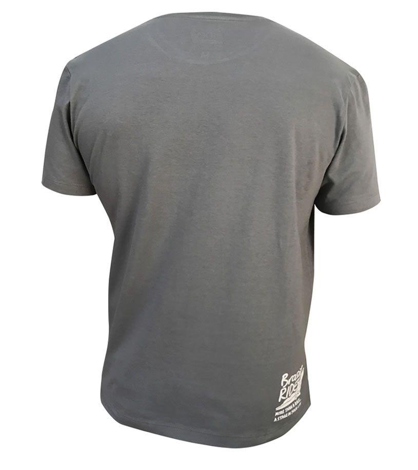 Tshirt Brasil Ride cinza