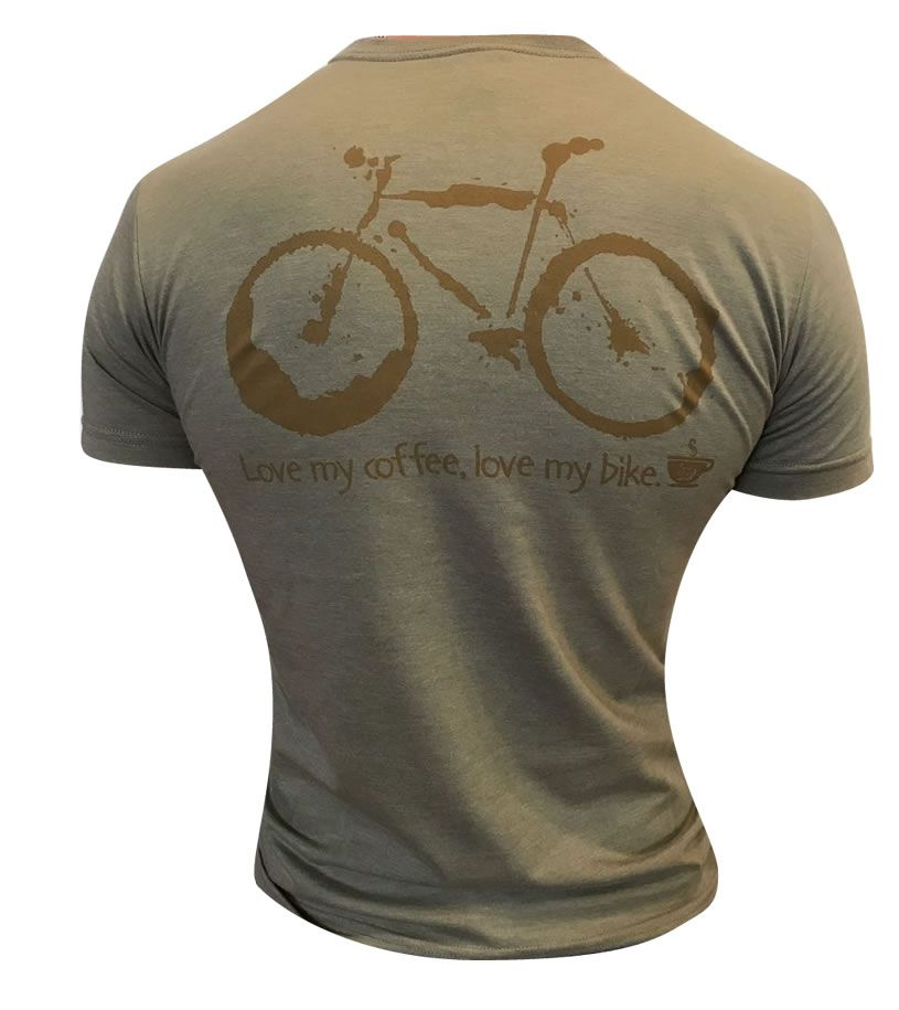 Tshirt Brasil Ride café