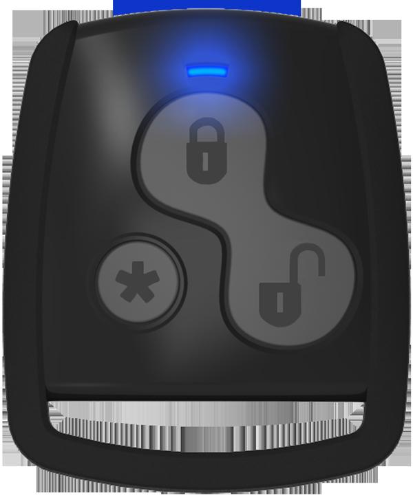 Controle remoto presença convencional e Padlock S - (led azul)