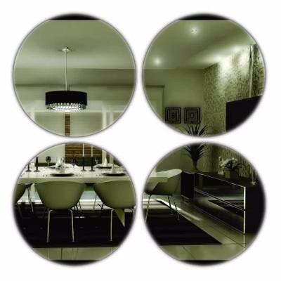 Espelho Decorativo Acrílico - 4 Bolas Grandes - 33 X 33 Cm
