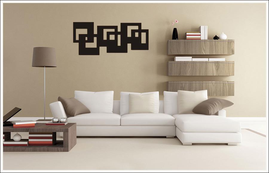 Escultura de Madeira Para Parede De sala 100 x 44 cm MDF Pintado