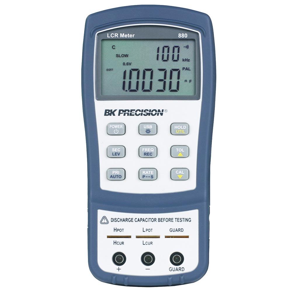 880 Ponte LCR B&K Precision até 100KHz com ESR e DSR
