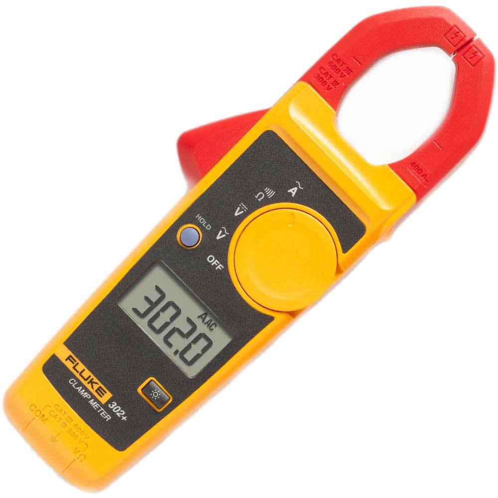 Alicate amperímetro AC FLUKE 302+