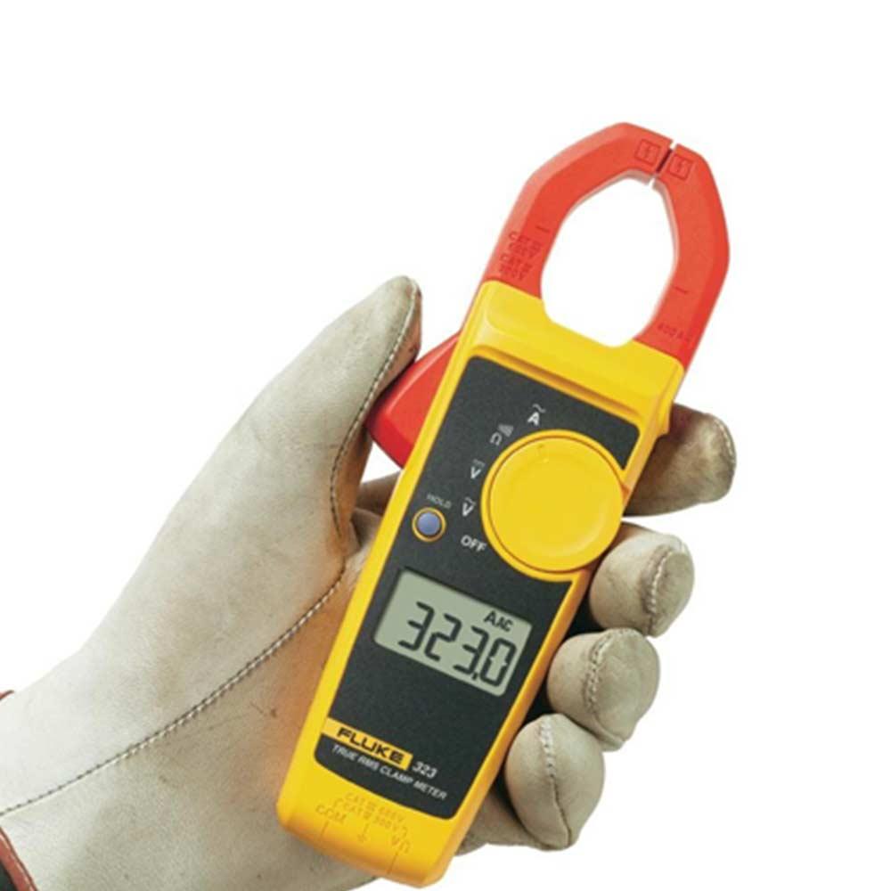 Alicate amperímetro FLUKE AC True RMS 323 até 400A