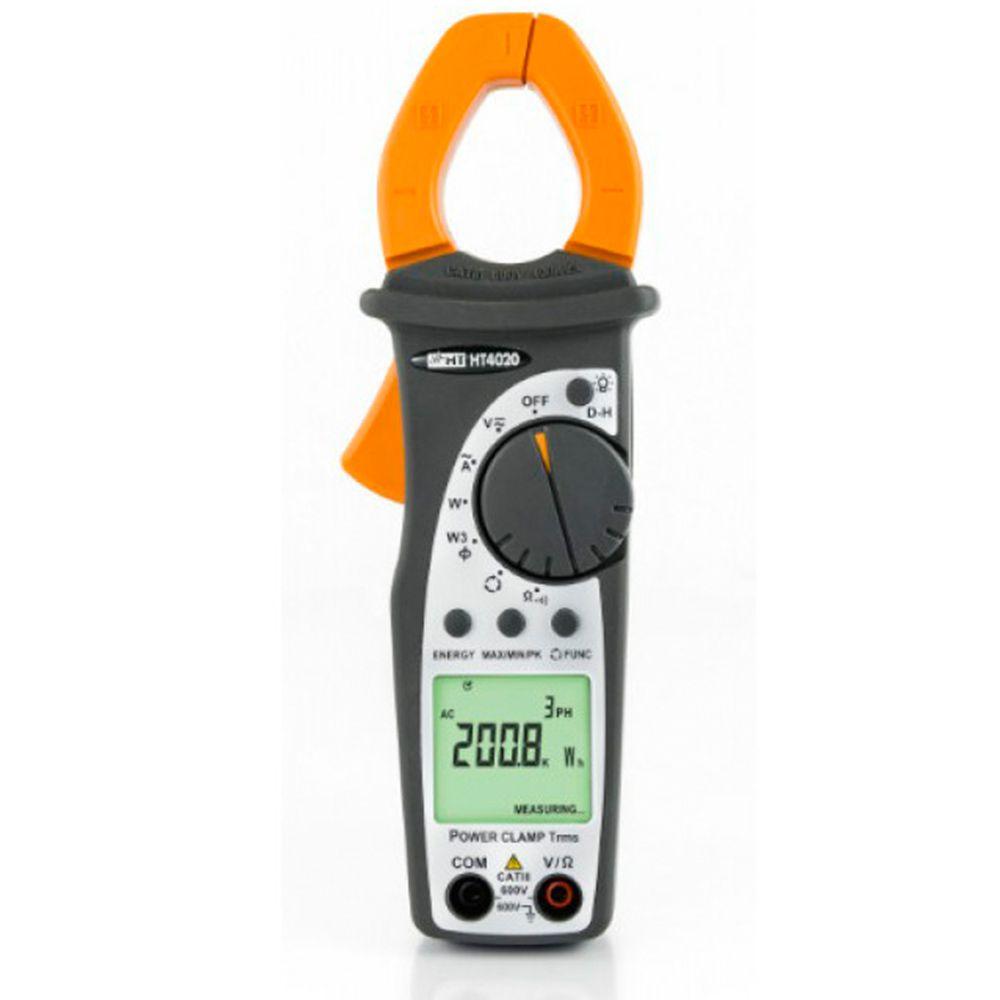 HT4020 Alicate amperímetro com medidas de potência