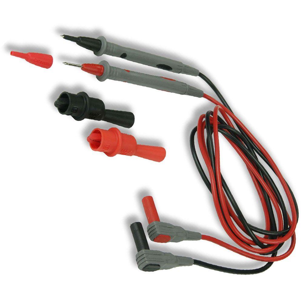 Pontas de para PVC 1000V CAT III para multímetros