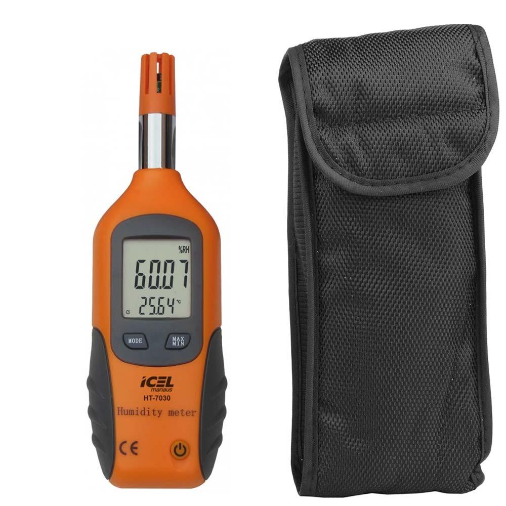 Termo-higrômetro digital Icel HT-7030, display duplo