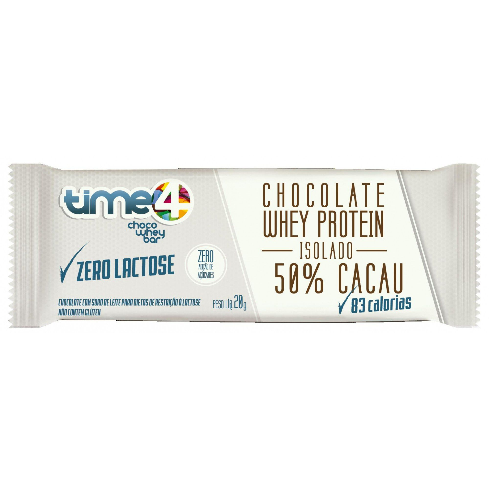 Choco Whey 50% Cacau zero Lactose c/10 un