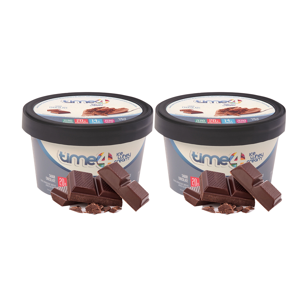 Sorvete Fit Chocolate 2 unidades