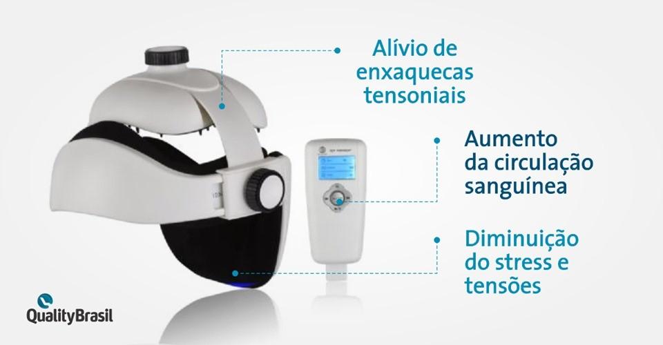 Aparelho Massageador HeadAir | Quality Brasil