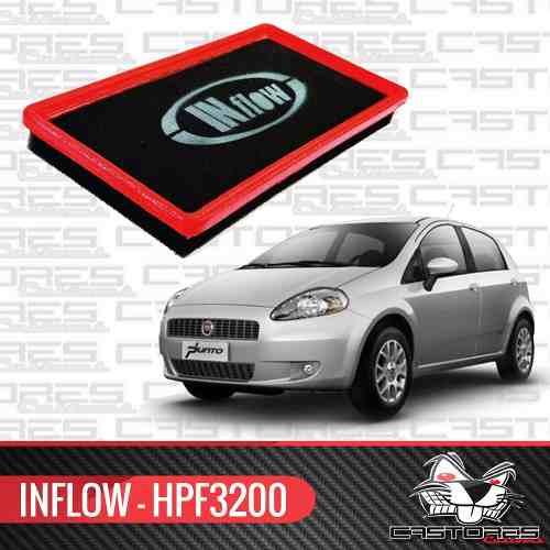 Filtro De Ar Esportivo Inflow Fiat Punto 1.4 Fire Hpf3200