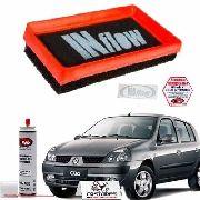 Filtro De Ar Esportivo Inflow Clio 1.0 16v Até 2004 / Peugeot 206 1.0 16v até 2005 - Hpf6500