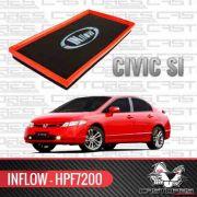 Filtro De Ar Esportivo Inflow New Civic Si 2007 08 Hpf7200