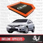 Filtro De Ar Esportivo Inflow New Civic 2013 14 15 Hpf6375