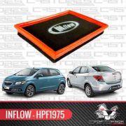Filtro De Ar Esportivo Inflow Gm Onix Prisma 1.0 1.4 Hpf1975