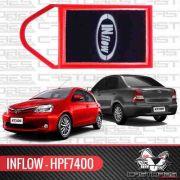 Filtro De Ar Esportivo Inbox Inflow - Toyota Etios Hpf7400