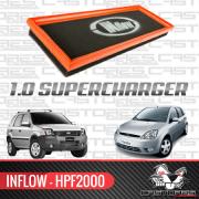Filtro De Ar Esportivo Inflow Fiesta Ecosport 1.0 Supercharger Hpf2000