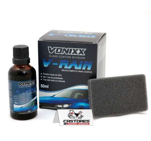 Revestimento Para Vidros Vitrificador Vonixx V-rain 50ml