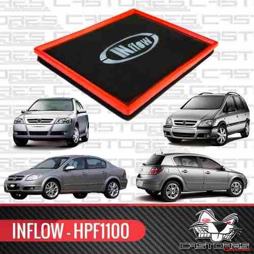Filtro De Ar Esportivo Inflow Gm Astra Vectra Zafira Hpf1100