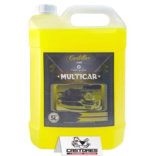 Multicar Cadillac Limpador Multiuso 5lts Apc Multilimpador