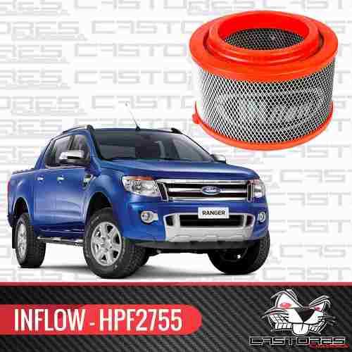 Filtro De Ar Esportivo Inflow Nova Ranger Hpf2755
