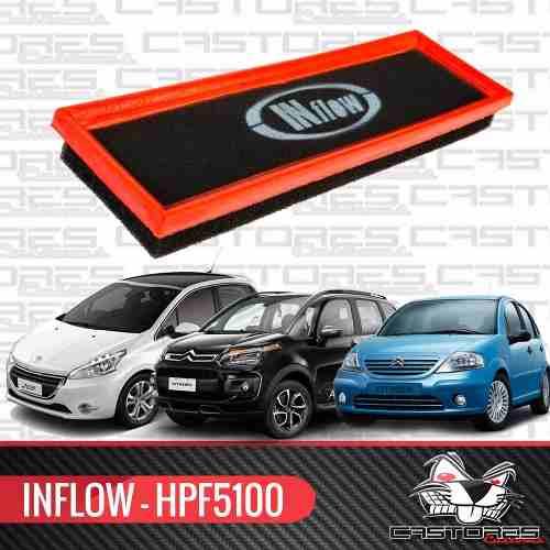 Filtro De Ar Esportivo Inbox Inflow Peugeot 208 / Citroen C3 Aircross - Hpf5100