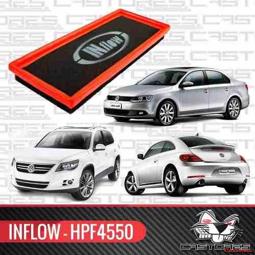 Filtro Esportivo Inflow Jetta Tsi Tiguan Novo Fusca Hpf4550