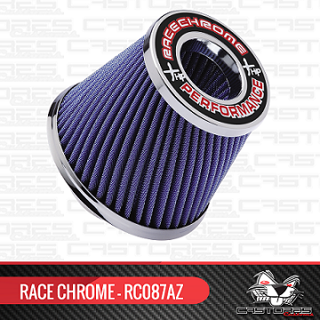 Filtro Ar Esportivo Duplo Fluxo Twister Perform Race Chrome