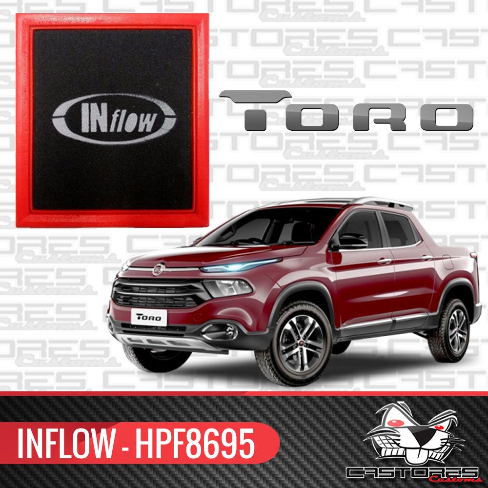 Filtro Ar Esportivo Inflow Fiat Toro 1.8 / 2.0 - Hpf8695
