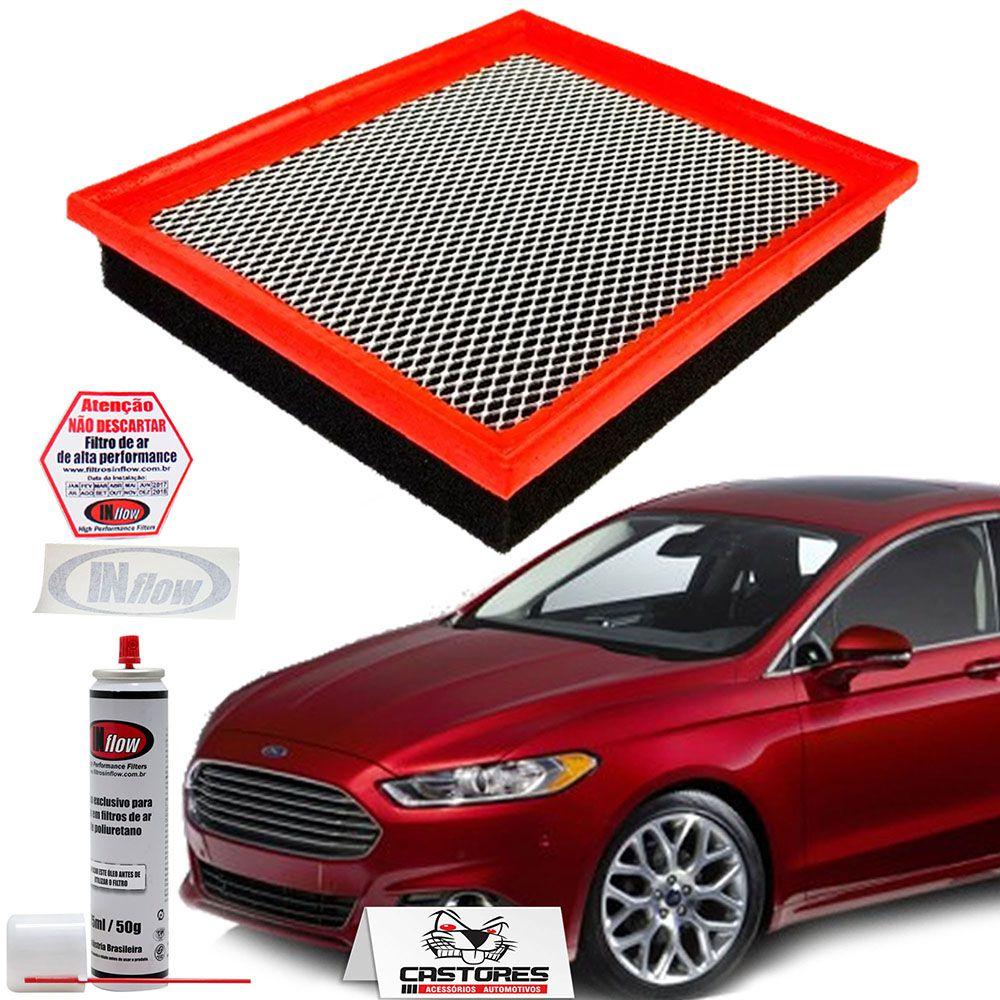 Filtro De Ar Inflow Ford Fusion 2.0 T 2013 Em Diante Hpf2435