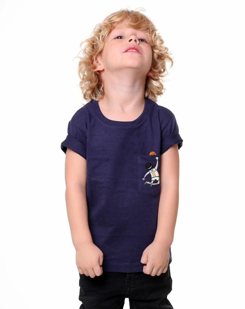 Camiseta Basquete (Infantil Masculino)