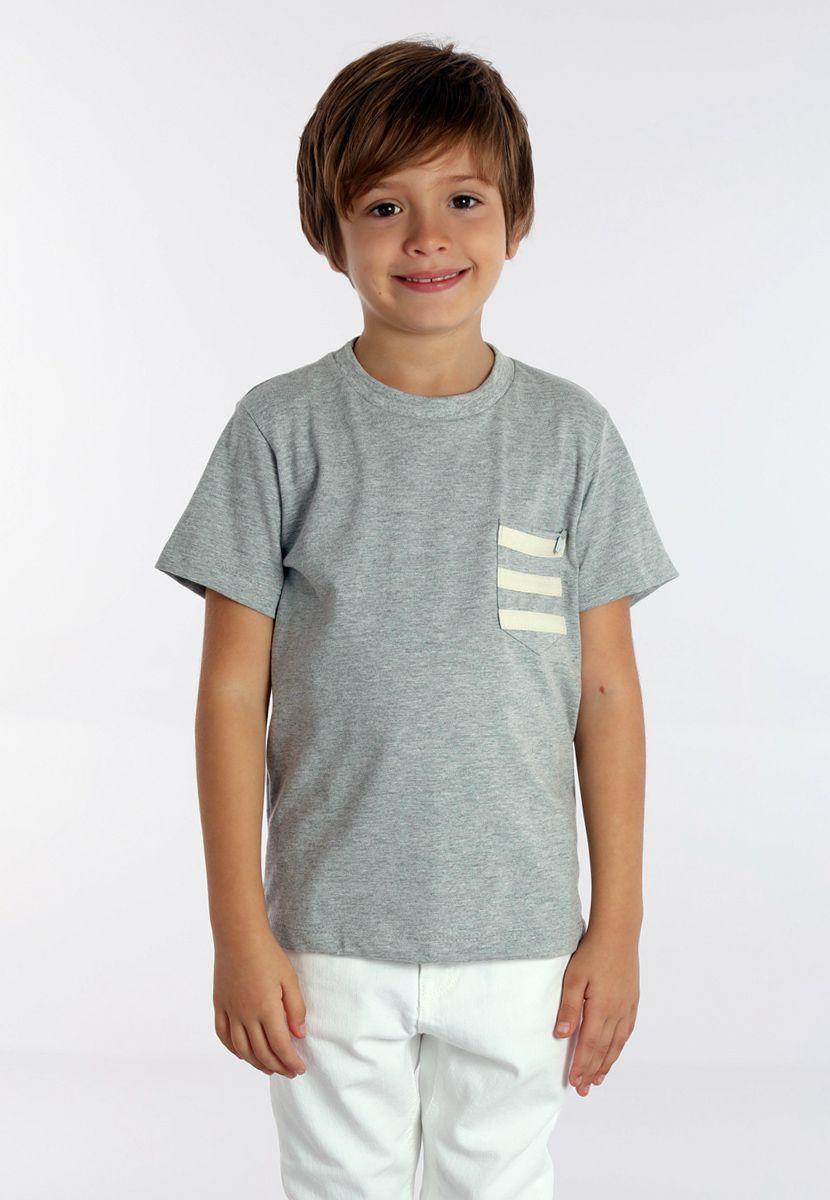 Camiseta Cadarço Listras