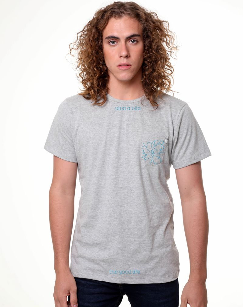 Camiseta Casa da Vila Blue (Masculino Adulto)