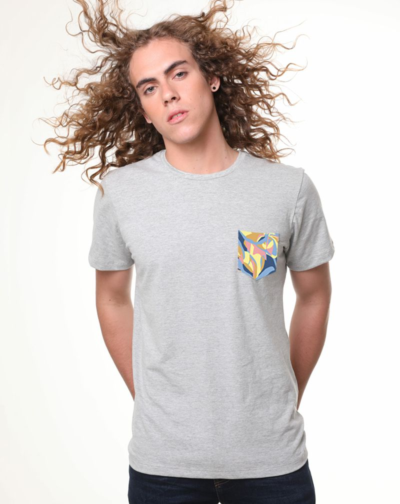 Camiseta Casa da Vila Colorful (Masculino Adulto)