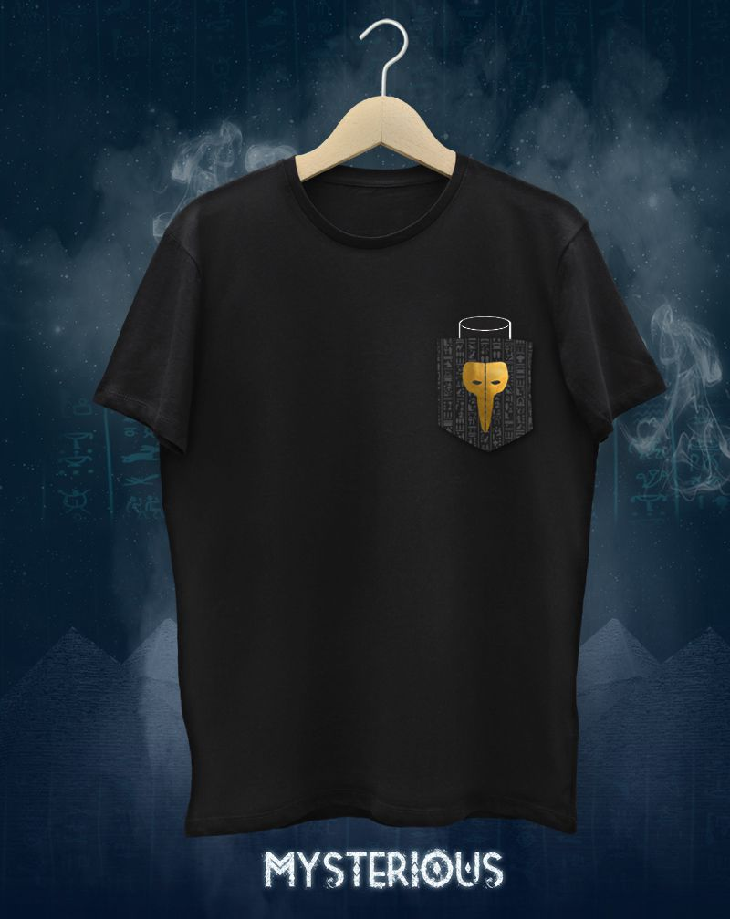 Camiseta Claptone Mysterious (Masculino Adulto)