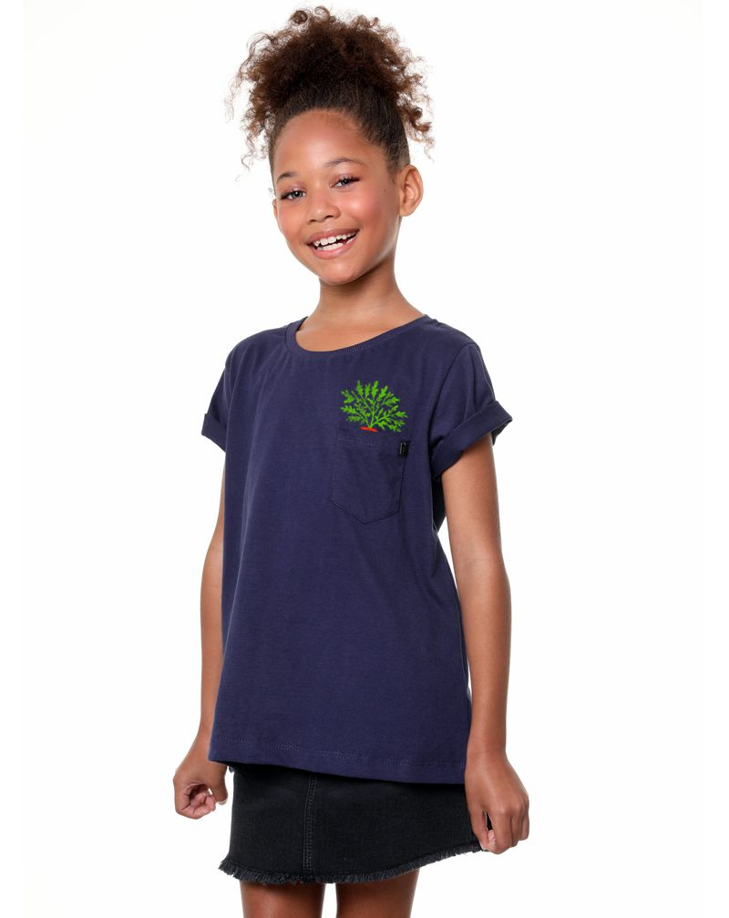 Camiseta Coelho (Infantil Feminino)