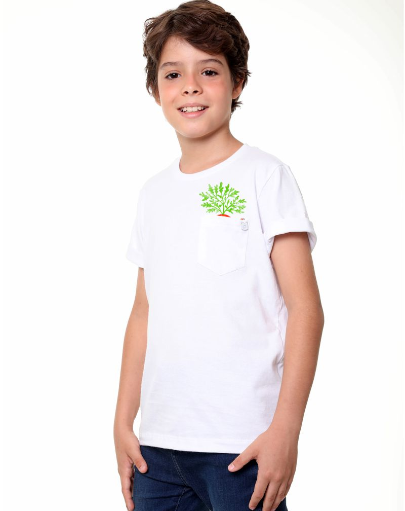 Camiseta Coelho (Infantil Masculino)