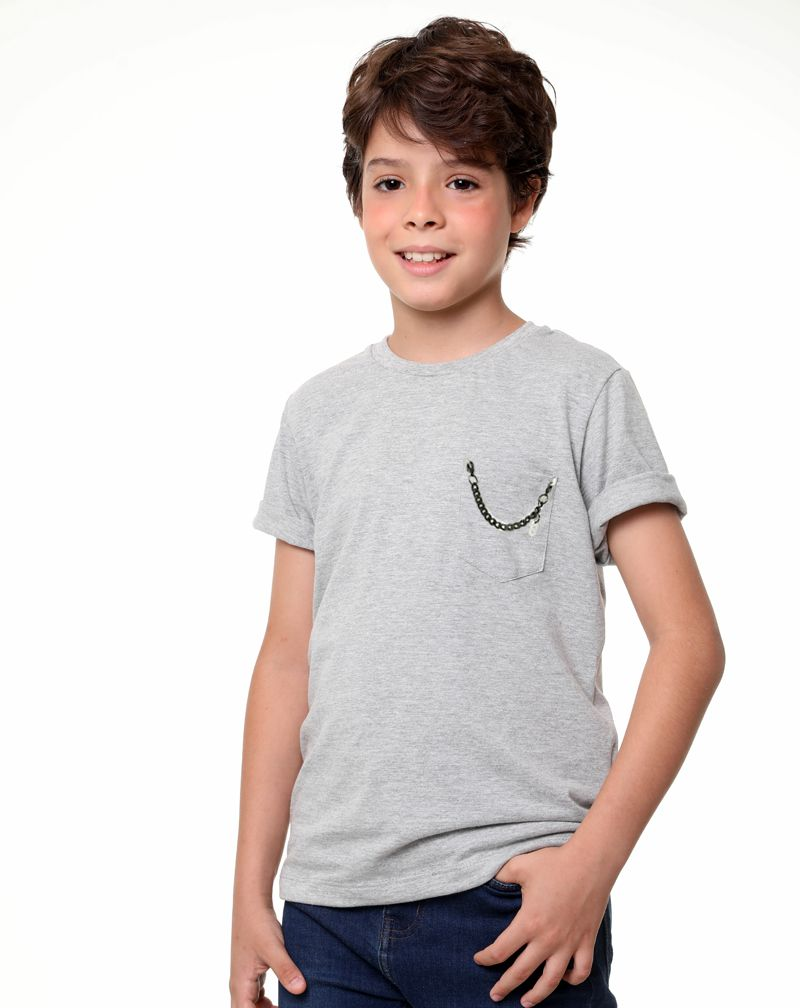Camiseta Corrente Bx (Infantil Masculino)