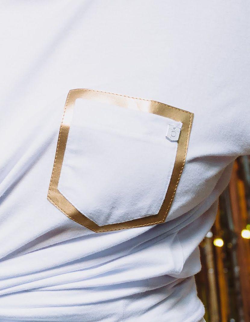 Camiseta Couro Gold/Silver  (Feminino Adulto)