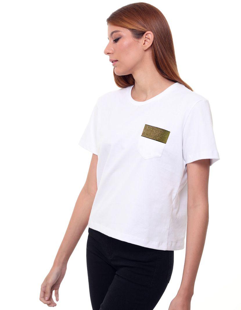 Camiseta Elástico Gold/Silver  (Feminino Adulto)