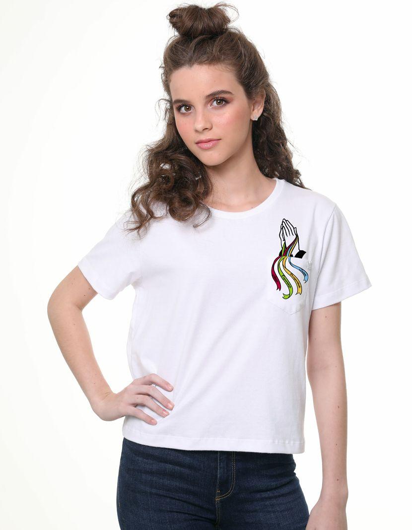 Camiseta Fitilhos (Feminino Adulto)