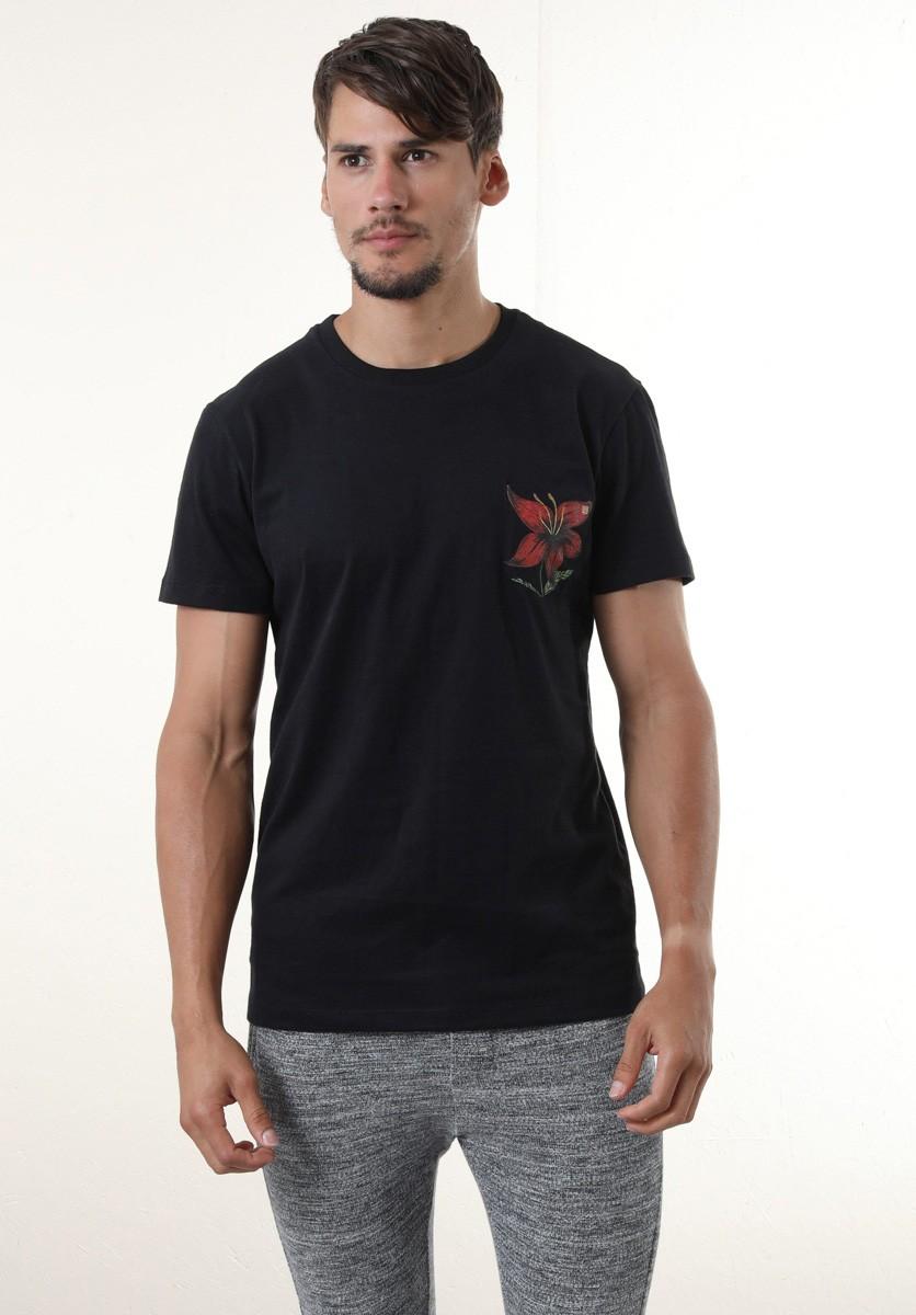 Camiseta Flor de Giz